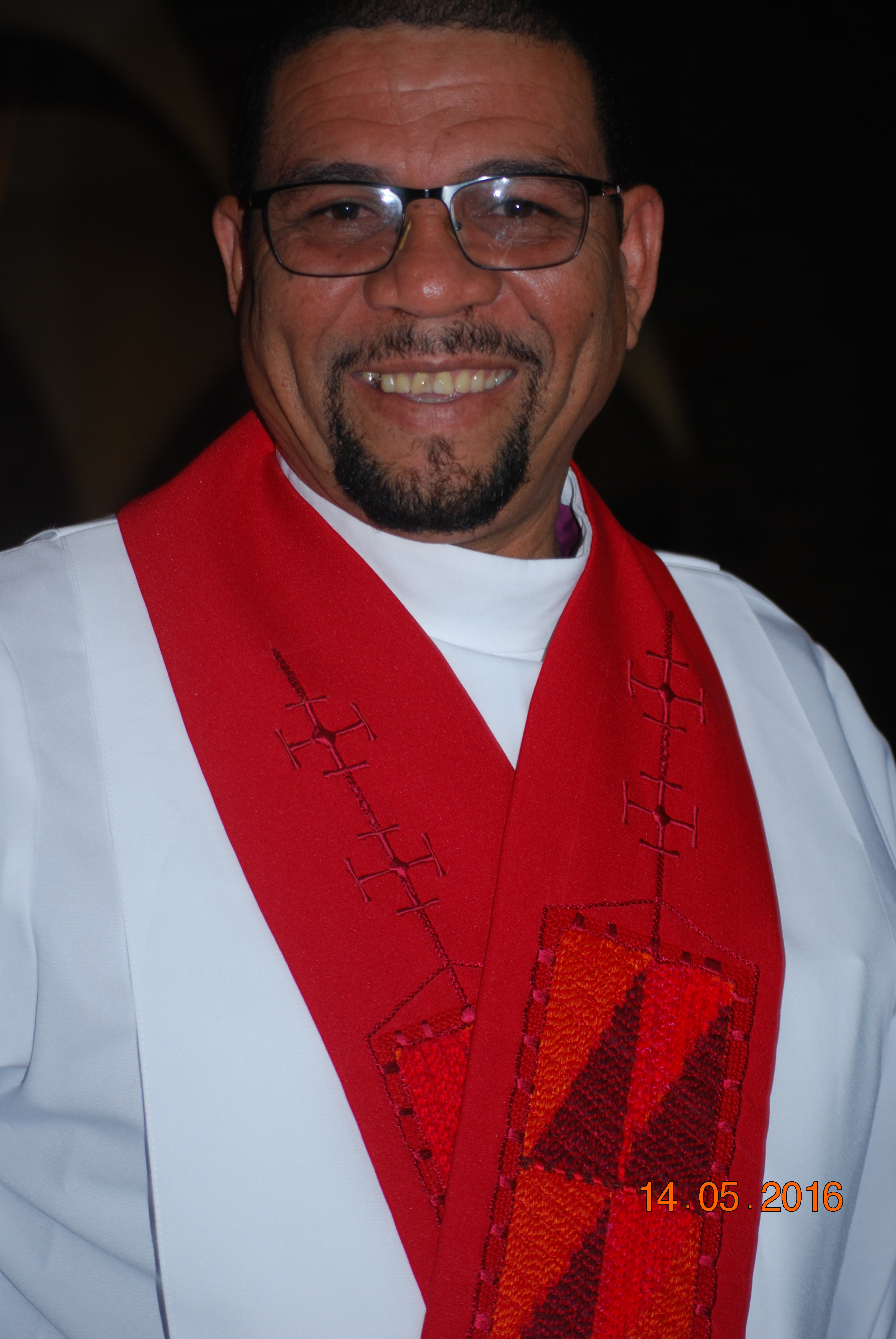 Bishop Allan on the day of his consecration