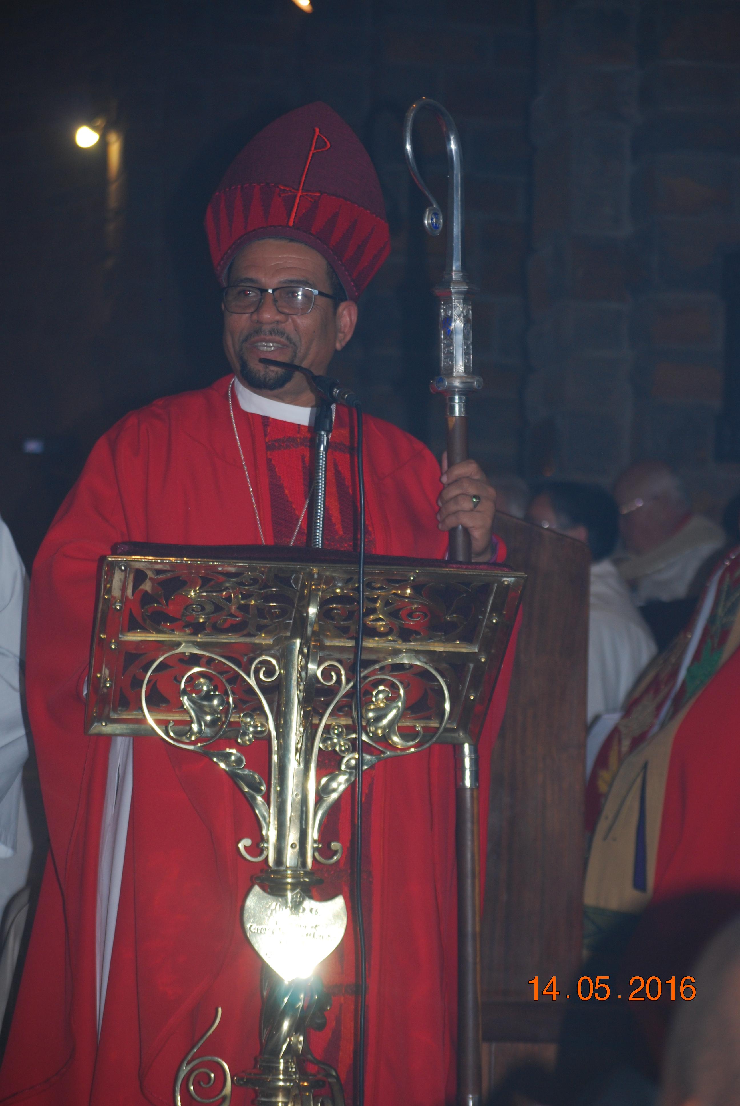 Bishop Allan at his consecration