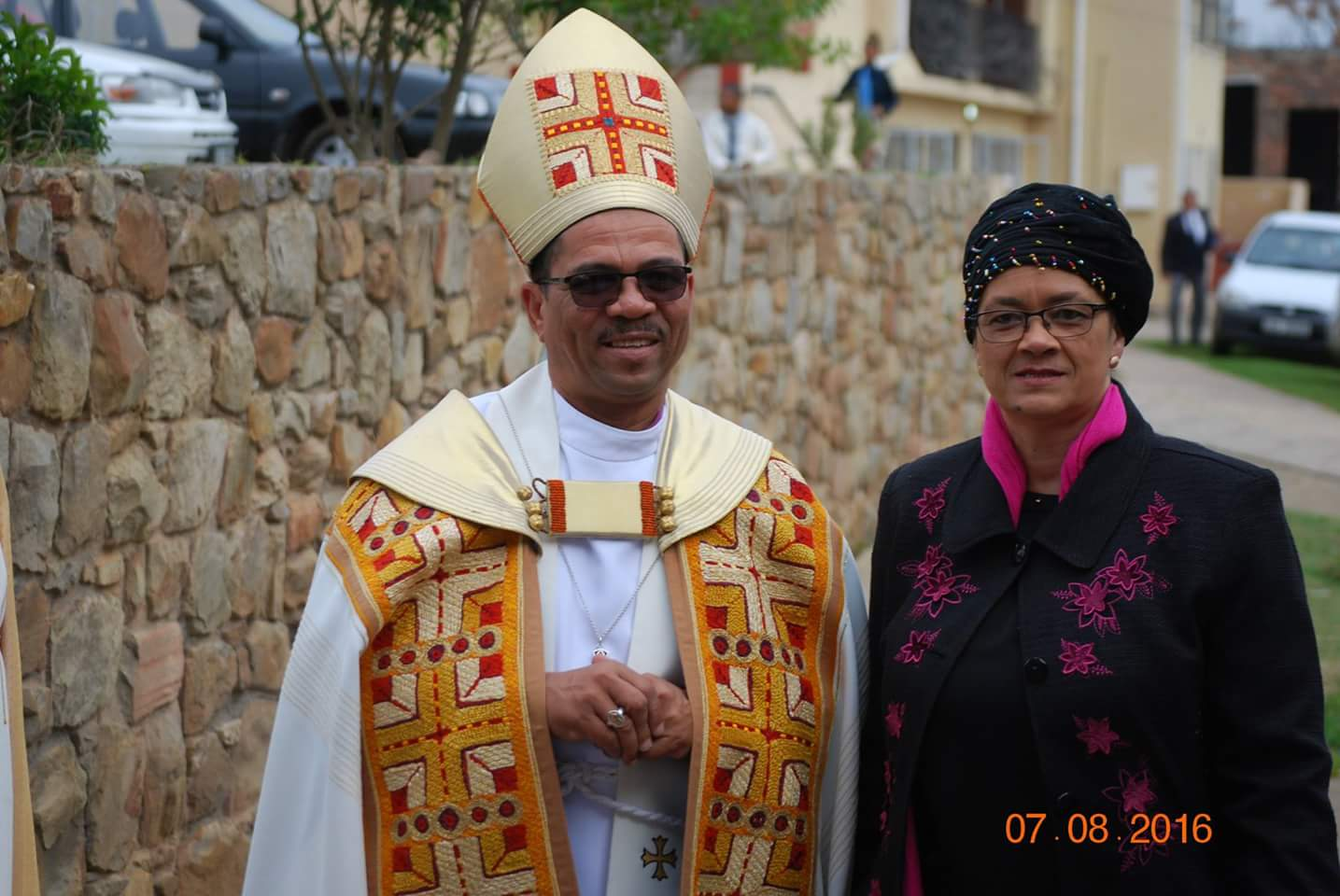 Bishop Allan and his wife, Connie