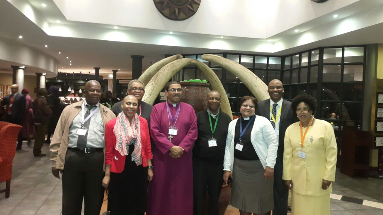 Representatives of the Diocese led by Bishop Allan at the 34th Provincial Synod of the Anglican Church of Southern Africa.